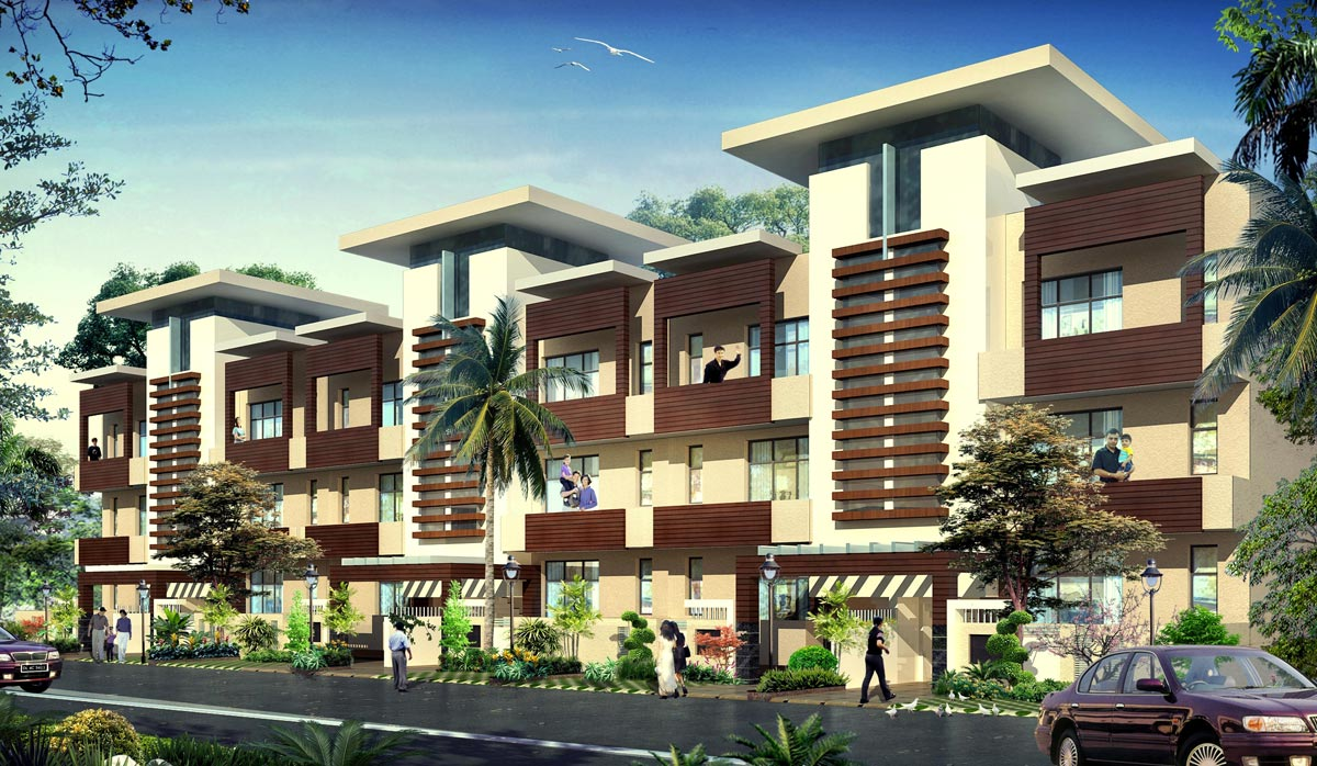 Township, Low Rise Residential Project, Aditya World City, Ghaziabad