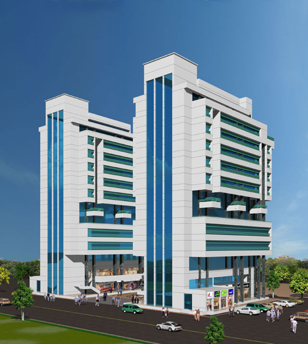 Aggarwal Cyber Plaza & Millenium Tower, Netaji Subhash Place, New Delhi