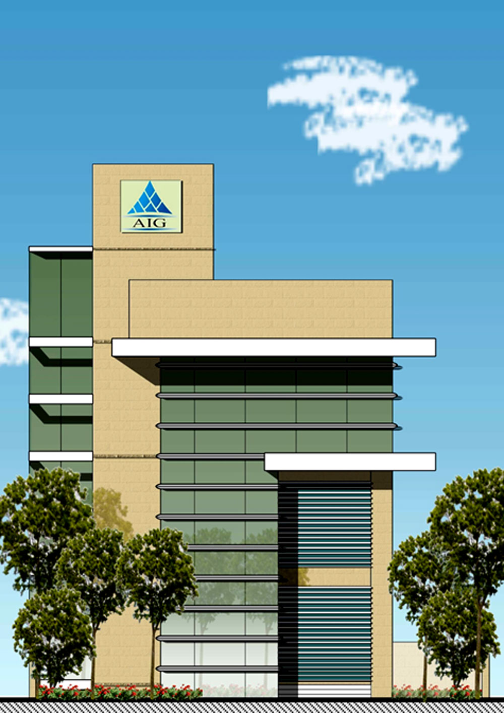 AIG Infratech Office Building and Tower