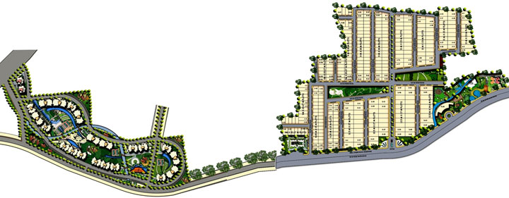 Oyster Green Mount City Indore